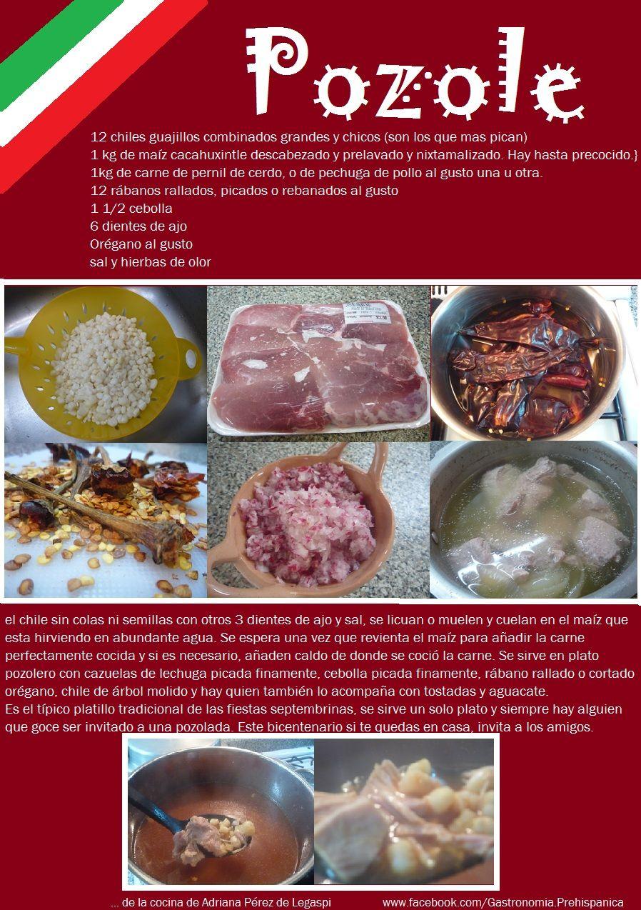Receta De Pozole Tradicional En Rojo Mexican Food Recipes Mexican Food Recipes Authentic Mexico Food