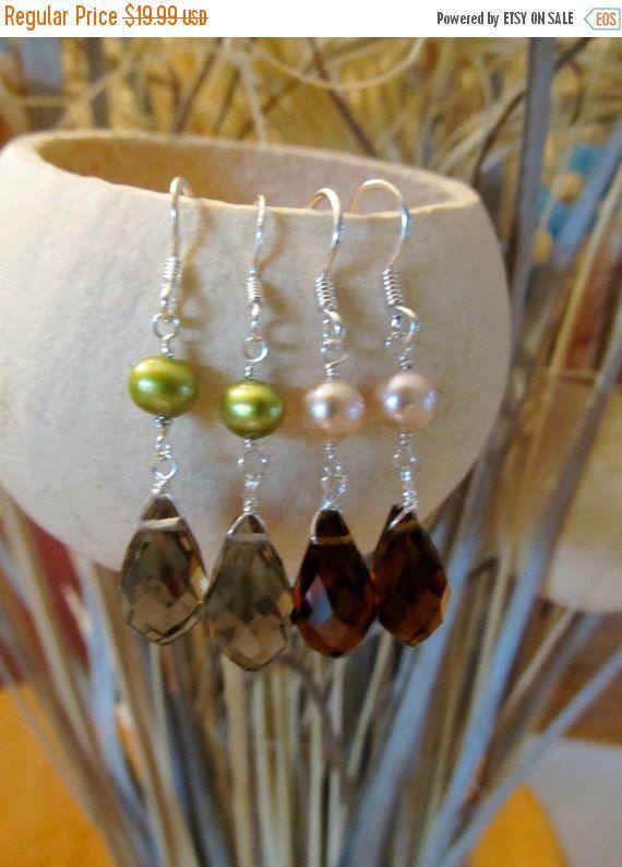 girl friend jewelry keshi pearl earrings garnet earrings sterling silver multi gemstone earrings wife jewelry idea amethyst earrings
