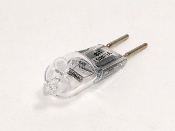 50 Watt 12 Volt T4 Clear Halogen 6 35mm Bi Pin Bulb Bulbrite
