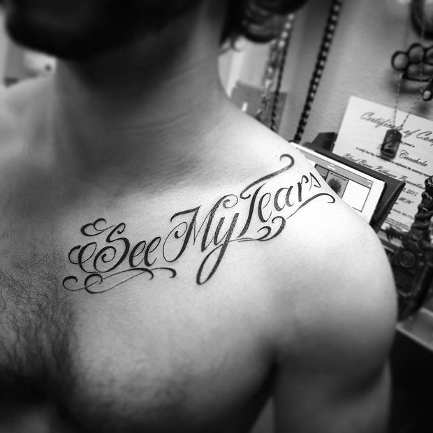 27 Examples Of Collar Bone Tattoos For Guys Tatted Up Group