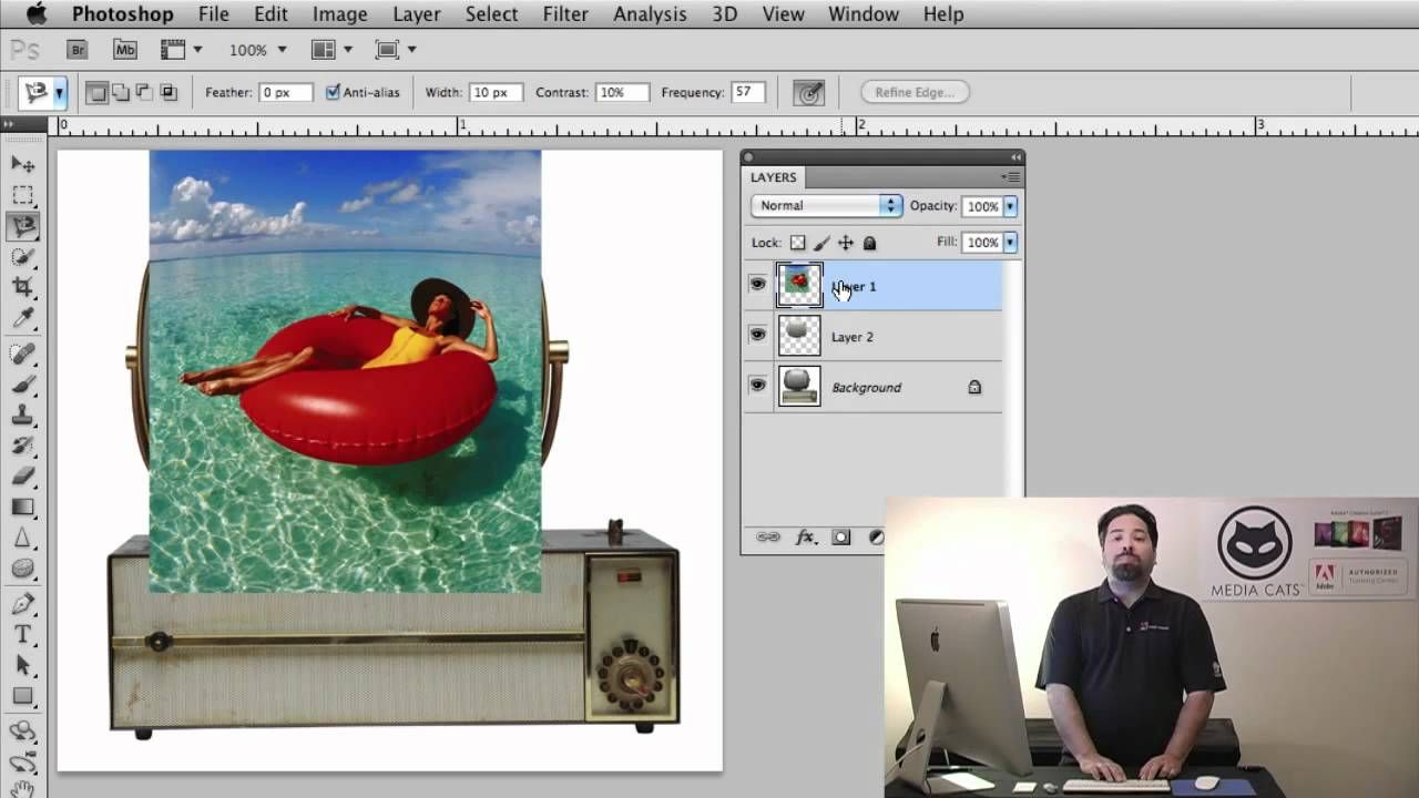 How to use a Clipping Mask