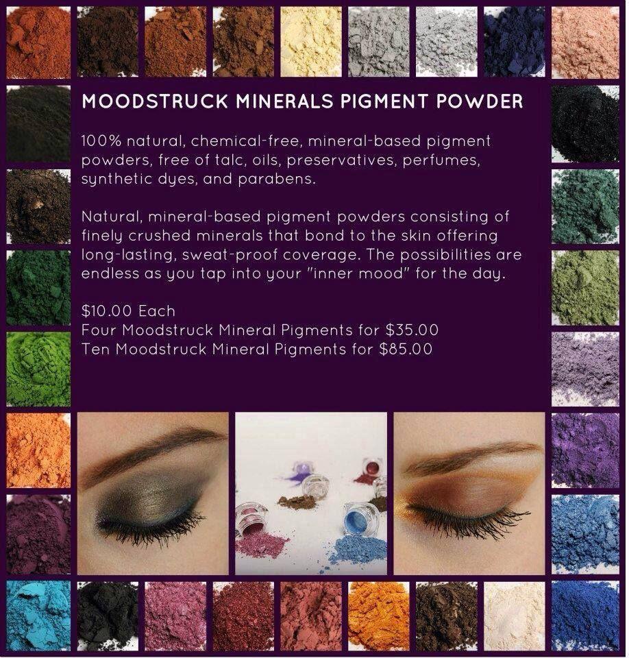 Moodstruck Mineral Pigments
