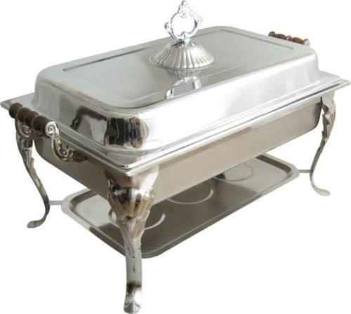 8qt Rectangular Chafer Chafing Dish Catering Banquet Buffet Food Tray Warmer | eBay