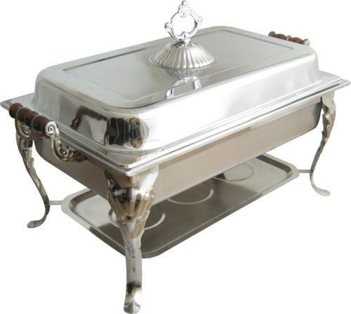 Superb 8Qt Rectangular Chafer Chafing Dish Catering Banquet Buffet Interior Design Ideas Apansoteloinfo