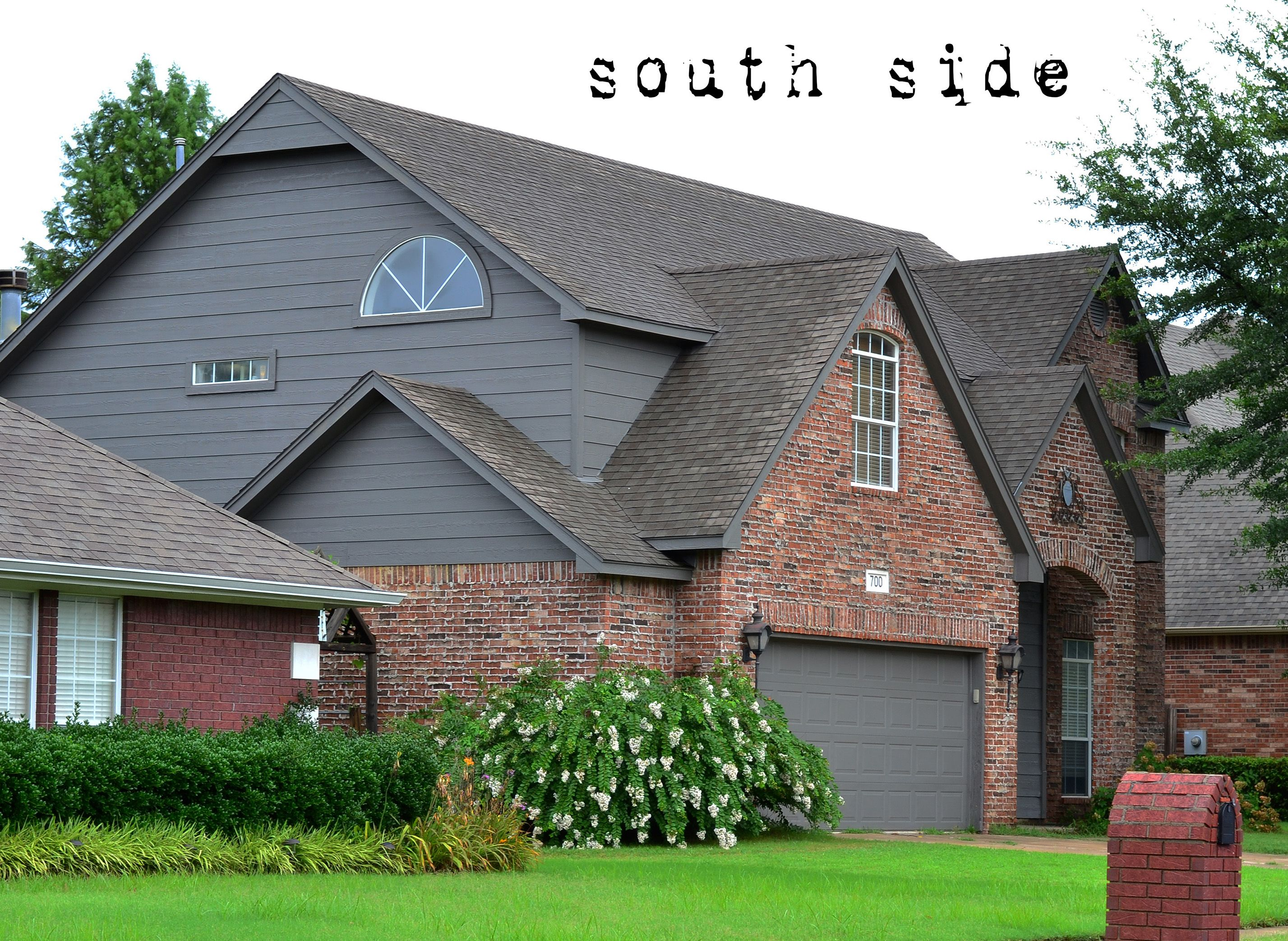 New House Paint on the Exterior   Exterior paint colors ... on Brick House Painting Ideas  id=87744