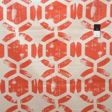 Ty Pennington HDTY13 Home Decor Honeycomb Spice Fabric 1 1/2 Yard