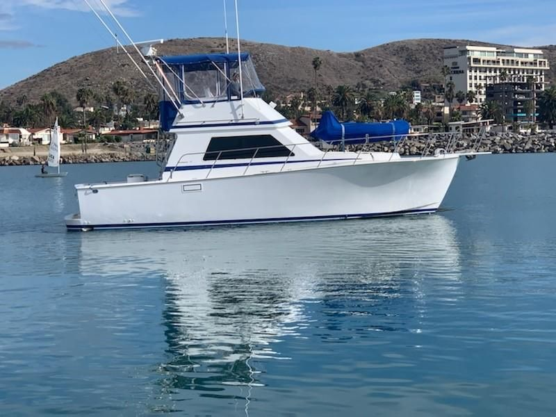 1996 37' Blackman Sport Fisher boat for sale in San Diego