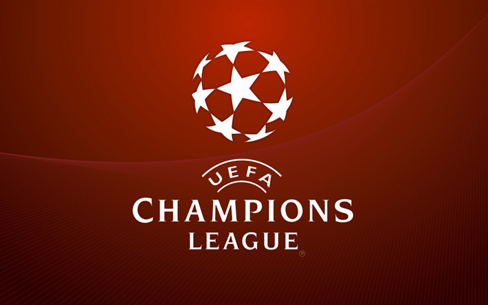 Download Wallpapers Uefa Champions League Logo Brown Background Besthqwallpapers Com Champions League Logo Uefa Champions League Champions League