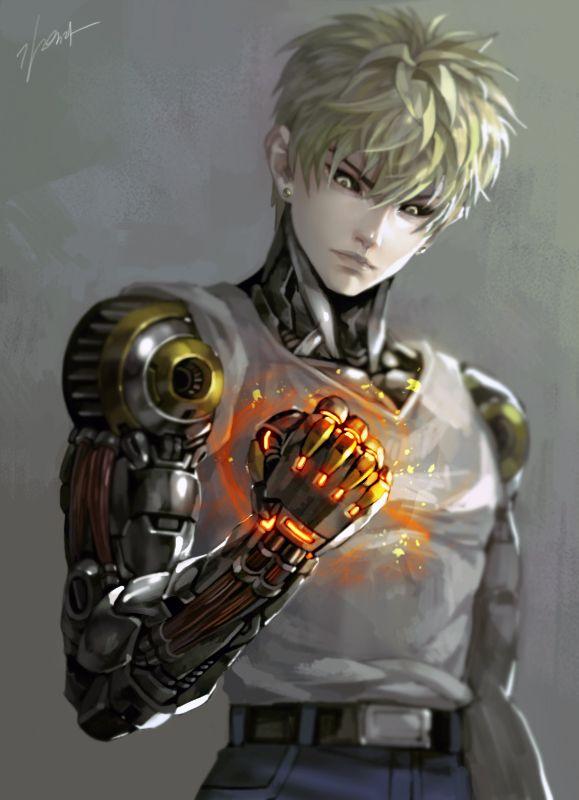 ONE PUNCH MAN - Genos by GoddessMechanic on DeviantArt