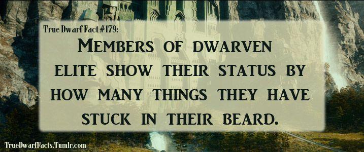 True Dwarf Facts