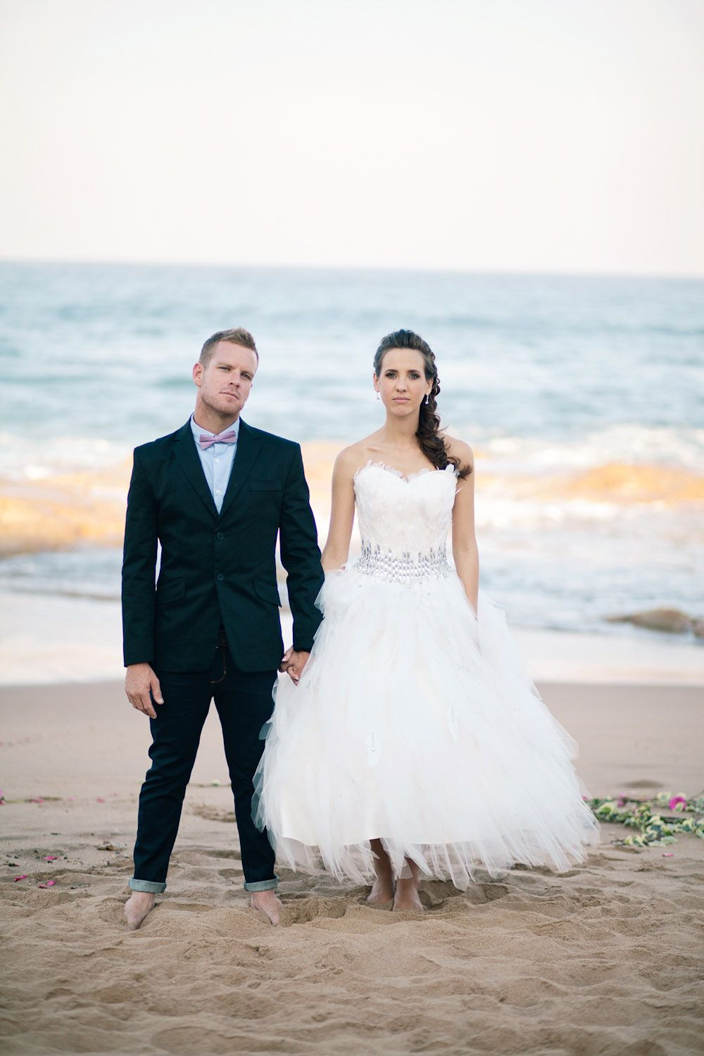 Completely Casual White on White South African Wedding: Kyle Lauren ...