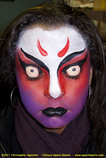 demon face makeup wwwpixsharkcom images galleries