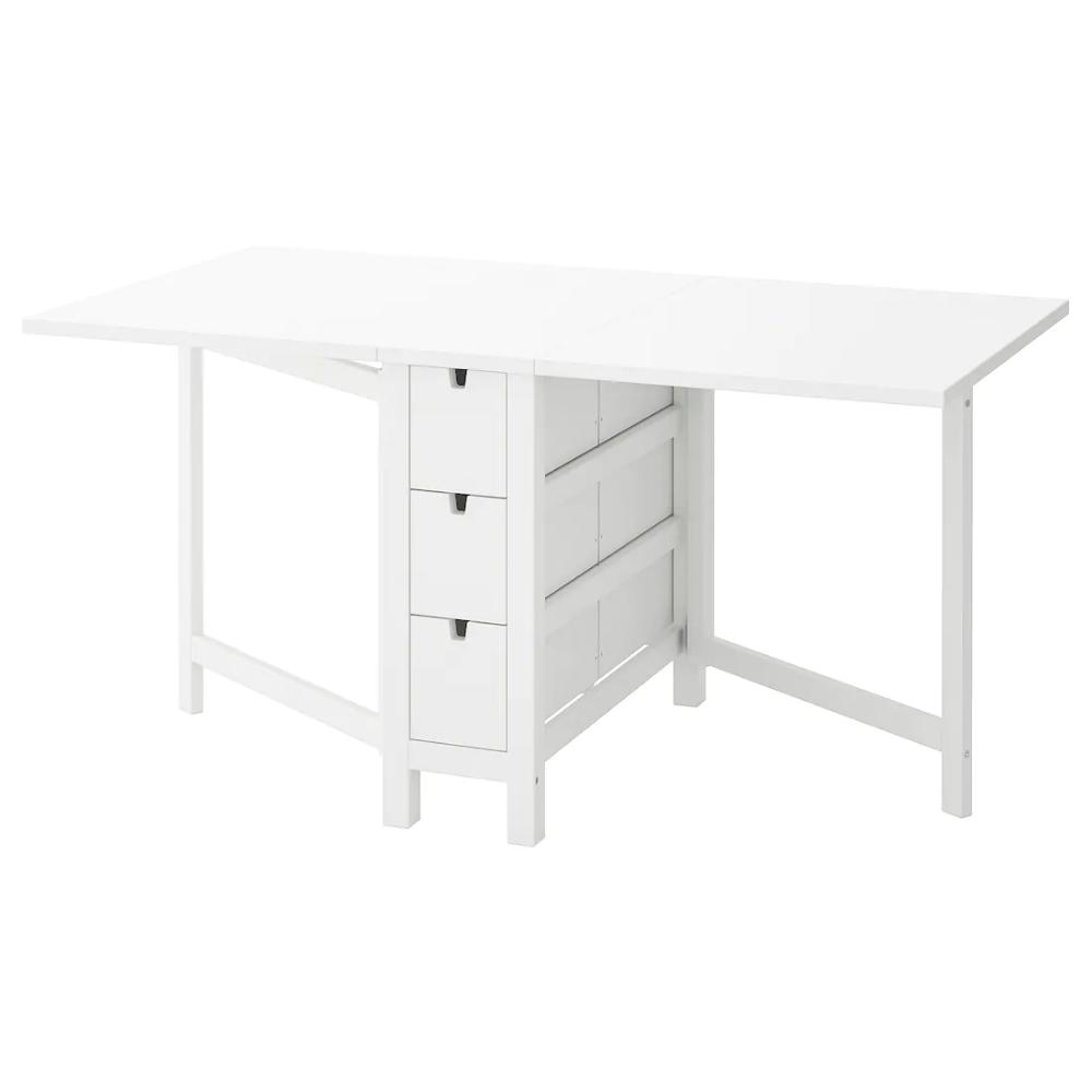 Norden Table A Rabat Blanc Table A Rabat Ikea Et Decoration