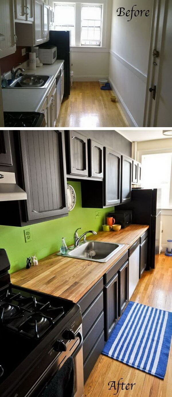 amazing before and after budget friendly kitchen makeover ideas