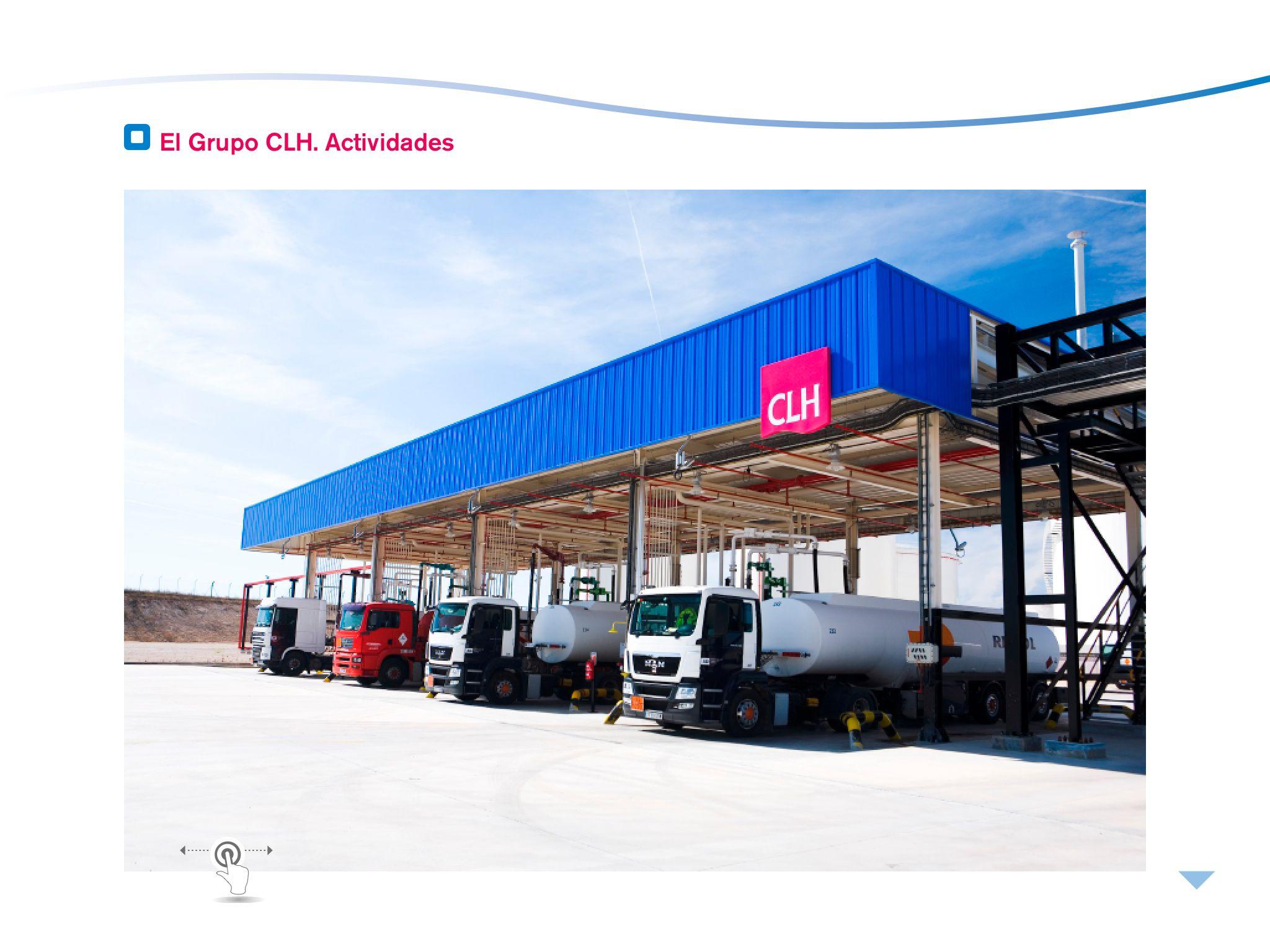 CLH Compañía Logística de Hidrocarburos, Memoria 2012 1/2
