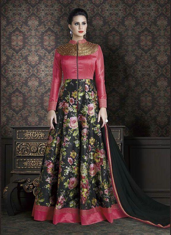 0dc3ca623b3 Designer Indian Ethnic Anarkali Long Suits Fancy Party Wear Salwar Kameez  Gown  Handmade  Anarkalis