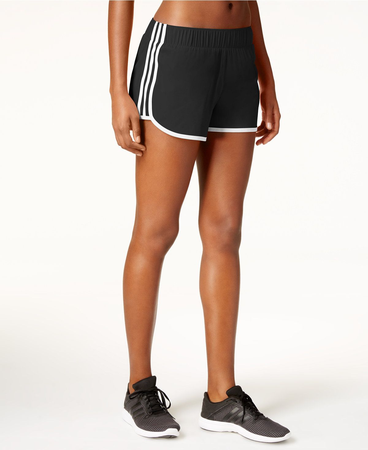 Adidas Climalite Junior Girls Shorts Bottoms Training Running Summer Colorful