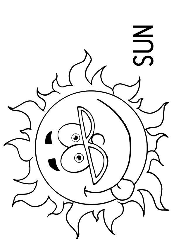 Weather Coloring Pages Sunny Sun Coloring Pages Valentine Coloring Pages Coloring Pages