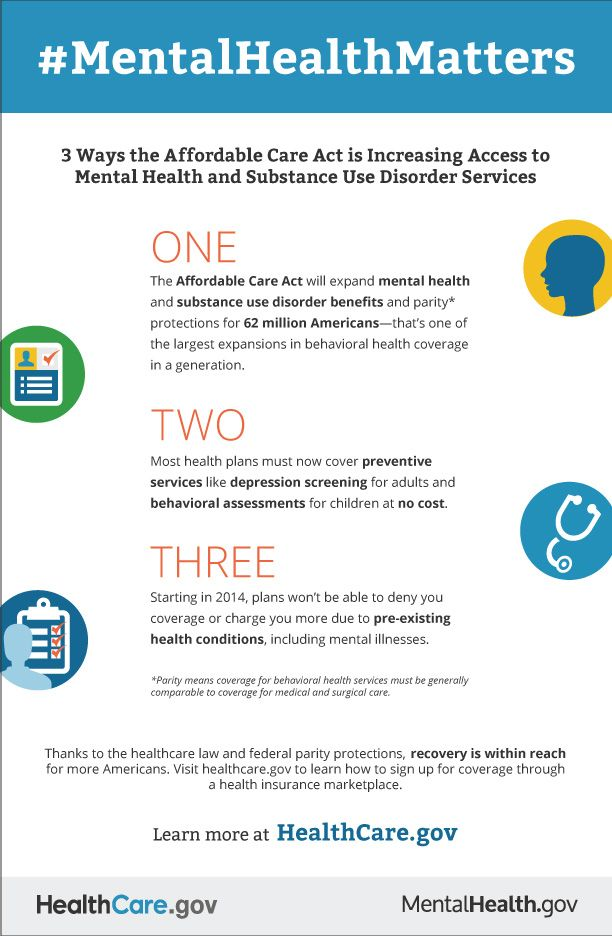 The Affordable Care Act And Expanding Mental Health Coverage The