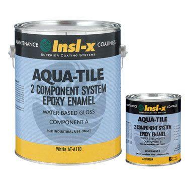 Insl X Aqua Tile Water Based Gloss Epoxy Aqua Tiles Epoxy Floor Decorating Tools