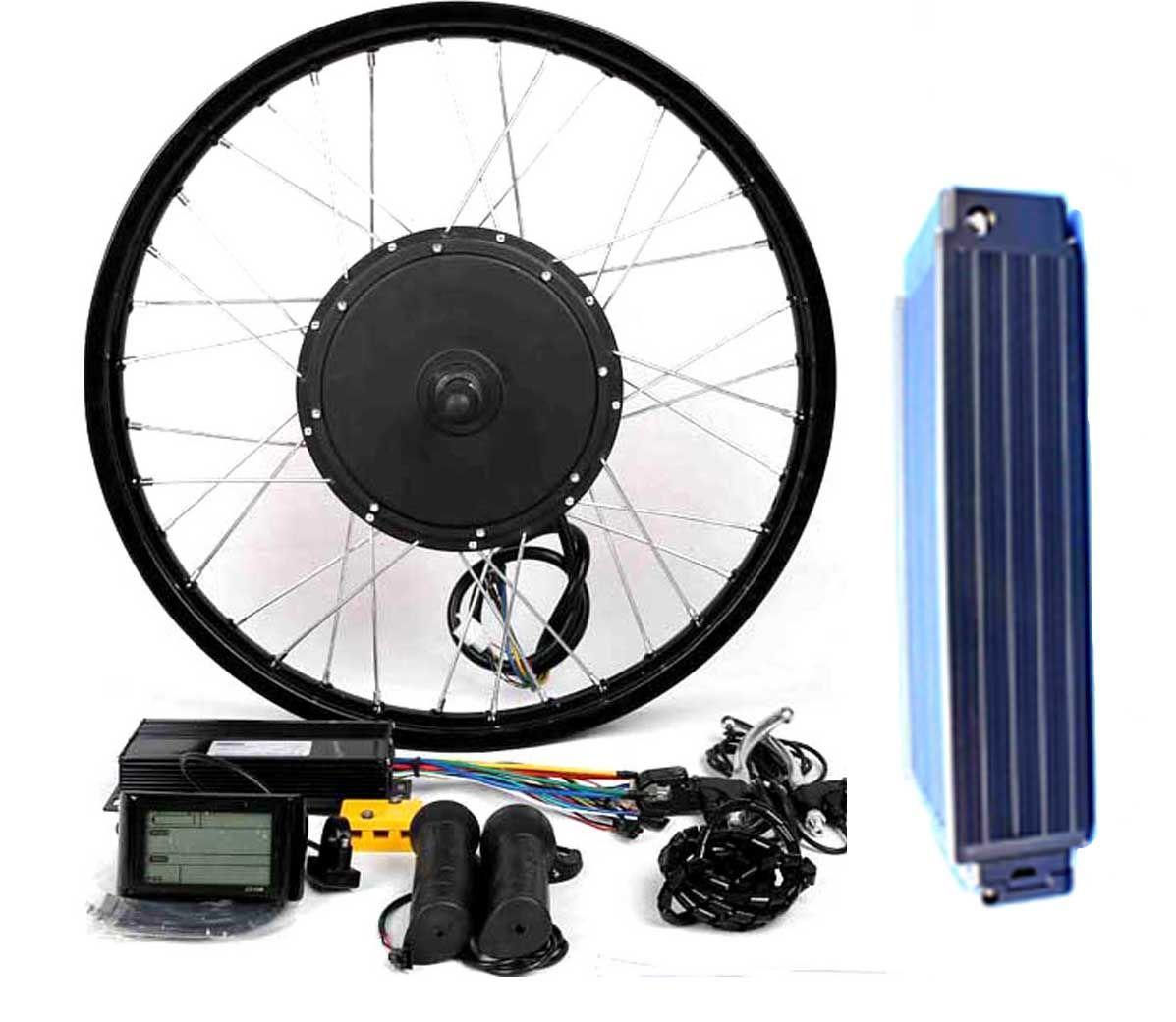 48v1500w Electric Bike Kit With 21ah Samsung 29 E Battery