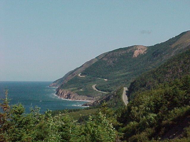 Cape Breton, Nova Scotia. Canada. I took this photo in September 2001