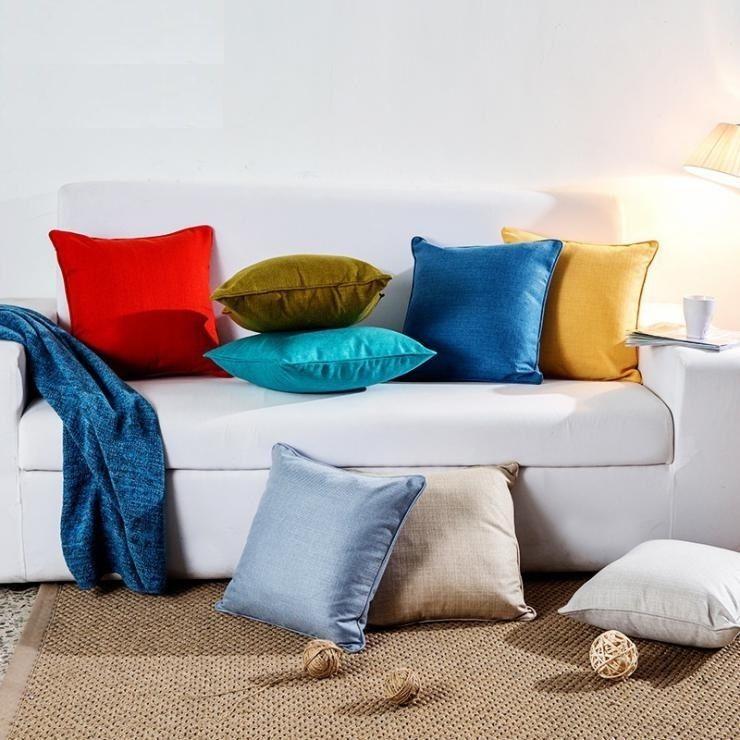 Pattern Cushion Cover For Sofa Home Decor 50X50cm Euro Throw