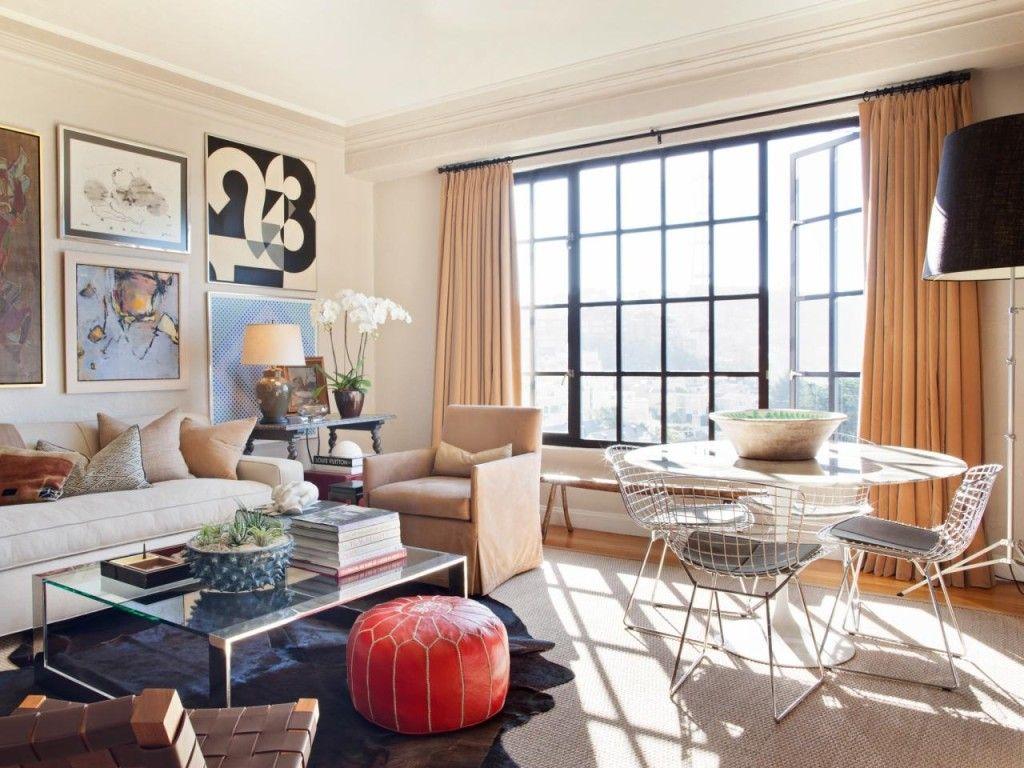 mid-century modern mcm interiors living room | dream house | Pinterest