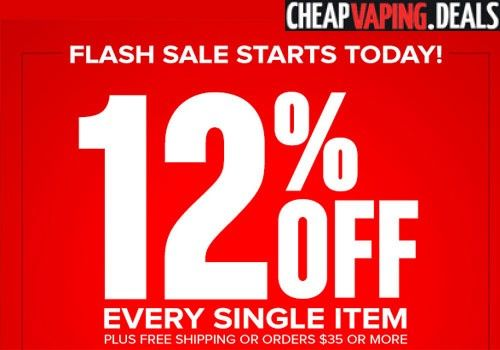 VaporBeast just notified us that they are having a flash sale  get