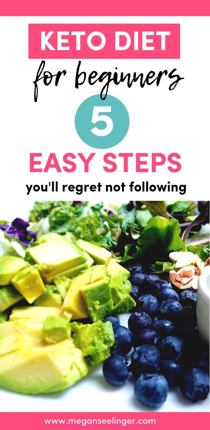 5 Necessary Steps to Following a Keto Diet For Beginners #ketodietforbeginners