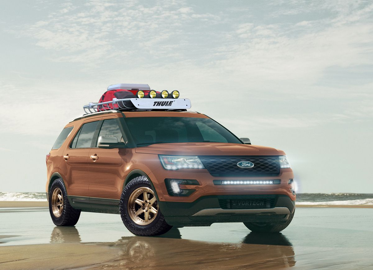 This Ford Explorer with Custom Wheels is an AllStar