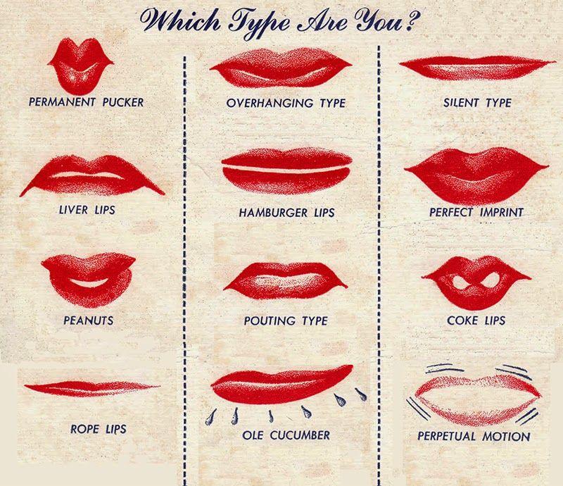 men's lips types - Google Search | Lips Thin lips Lips ...