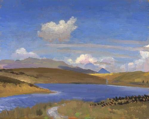 Augustus John - Llyn Treweryn 1911-12