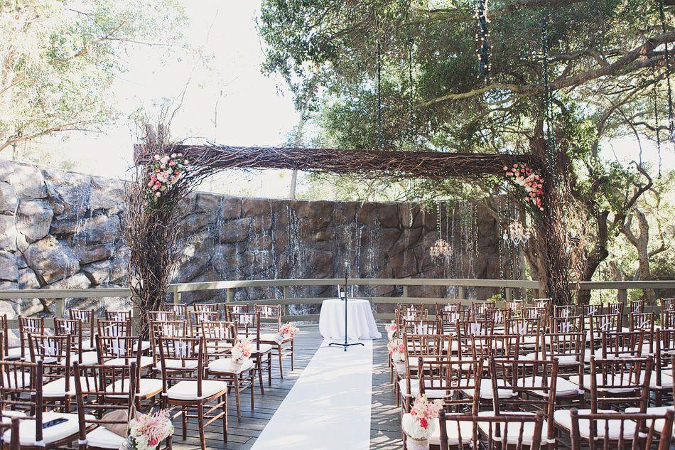 Oak Room Ceremony Site at Calamigos Ranch in Malibu