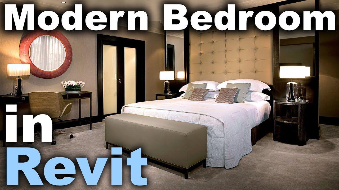 Best Modern Bedroom In Revit Tutorial Interior Design In Revit 400 x 300