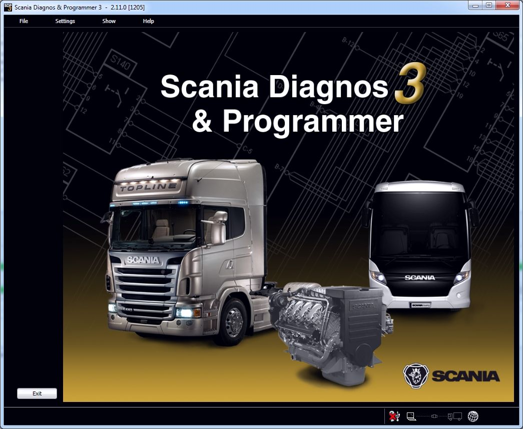 Scania Diagnos & Programmer 3 (SDP3) communicates with Scania vehicles and Scania industrial and marine engines. The program has been developed to support the electrical system with CAN communication. The program is used for troubleshooting, adjusting customer parameters, calibrations, conversions affecting the electrical system and updating software in control units.