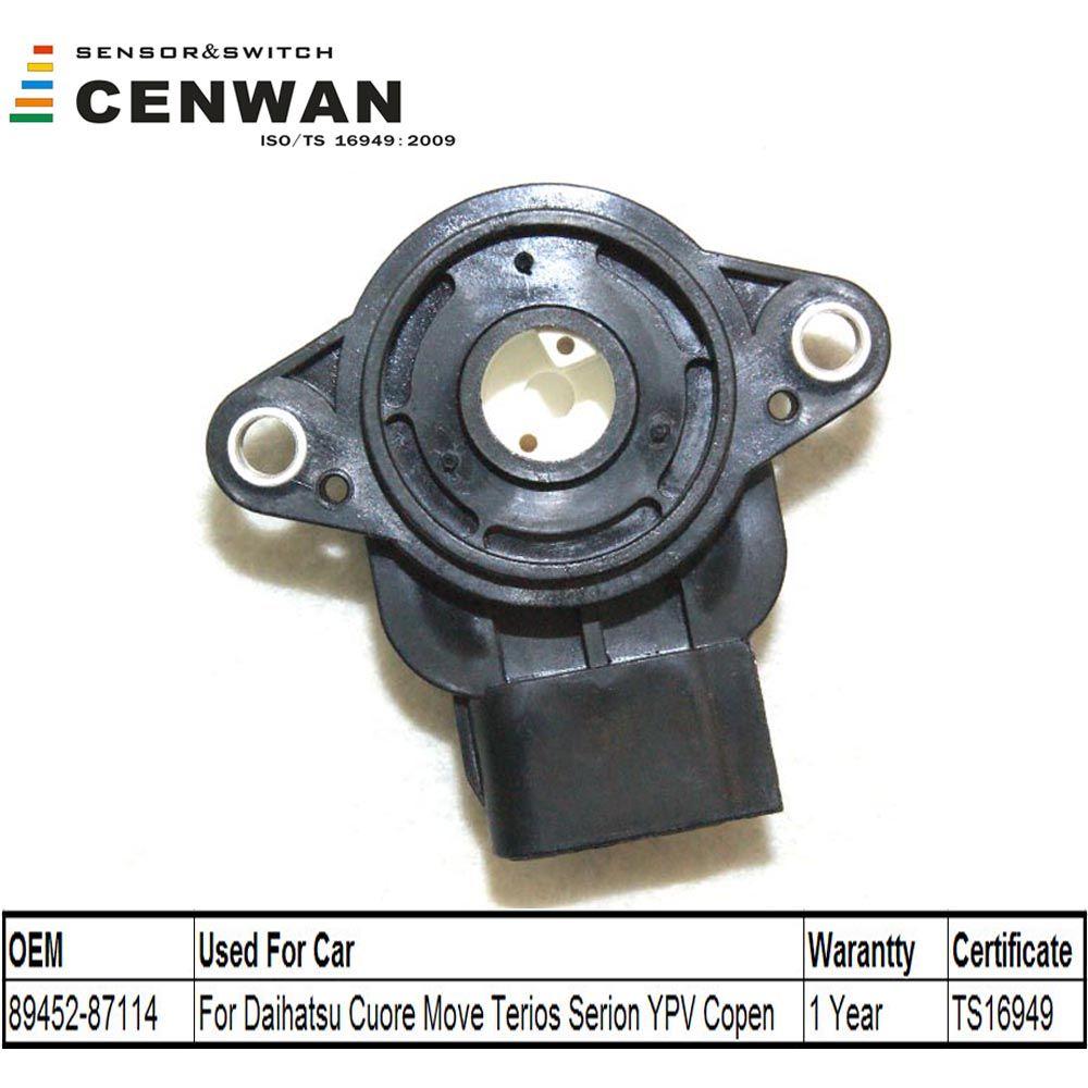 Cenwan Throttle Position Sensor 89452 87114 For Daihatsu Cuore V