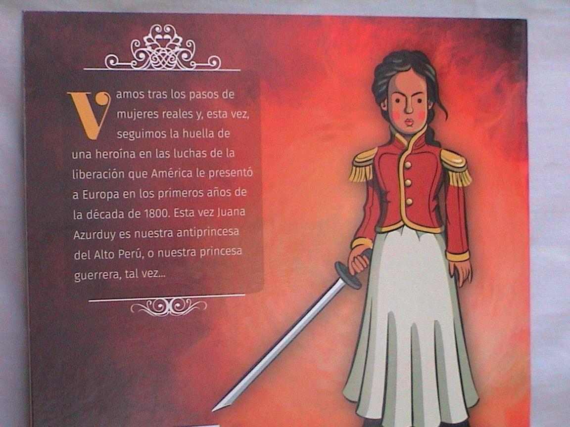 Juana Azurduy Coleccion Antiprincesas Antiprincesas