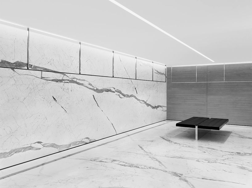 083960fc48344 Fashion house Saint Laurent has opened a new store in the italian city of  milan, with interiors designed by the brand's creative director hedi  slimane.