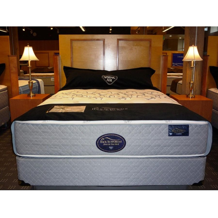 This Spring Air Mattress Features The Gabriel Firm Back Supporter System Which Offers An Individually
