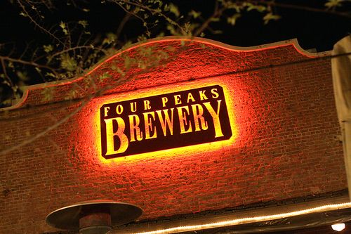 0926_006 SIGN - Four Peaks Brewery by Eutychus22, via Flickr