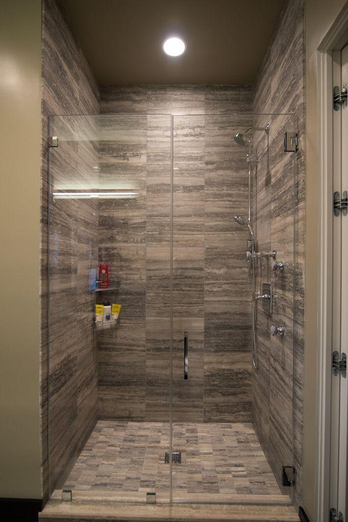 frameless shower door | My future home | Pinterest | Frameless ...