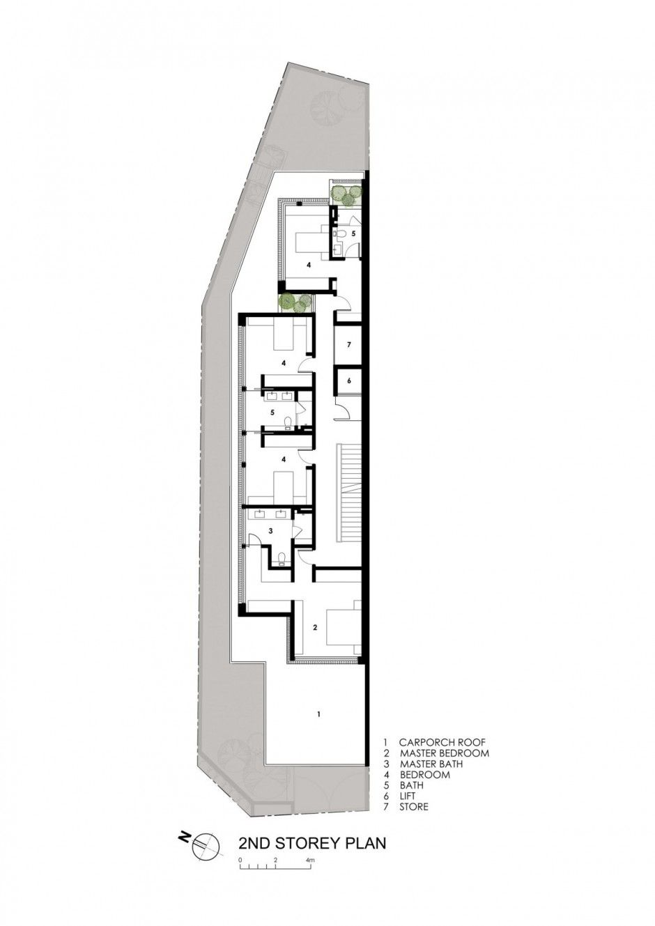 Sunny side house by wallflower architecture architecture for Plans d arkitek