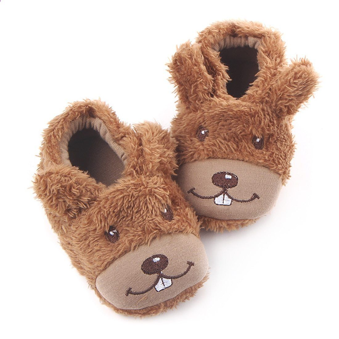 Toddler  Baby Kid Girl Cartoon Dog Crib Shoes Newborn Infant Winter Warm Booties