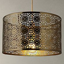 Buy john lewis eila cutwork shade online at johnlewis bedroom shop for ceiling lamp shades from our furniture lights range at john lewis aloadofball Images