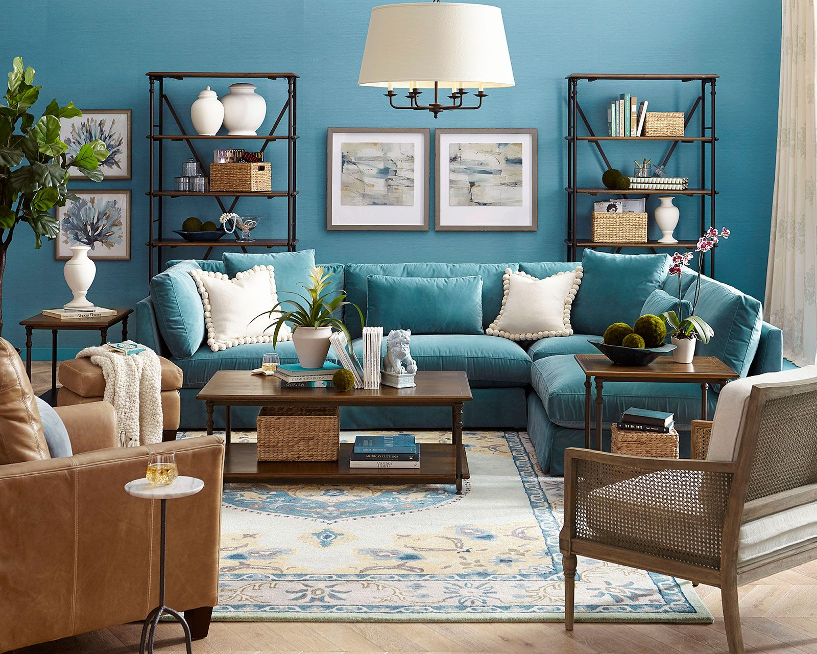 Ways To Refresh Your Home For The New Year How To Decorate In 2020 Turquoise Living Room Decor Living Room Turquoise Teal Couch Living Room #turquoise #living #room #furniture