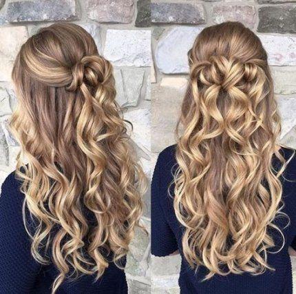 Hairstyles Men Formal Long Hair 39 Best Ideas Long Blonde Curls Prom Hairstyles For Long Hair Long Hair Styles