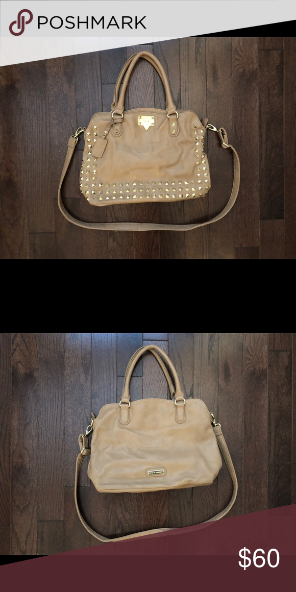 308fac3b512db3 Steve Madden Purse Brown leather purse with gold details Steve Madden Bags  Shoulder Bags