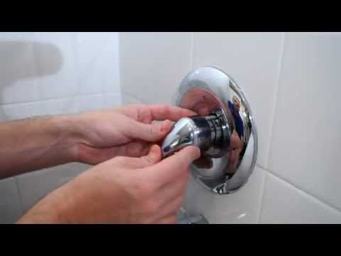 How To Fix A Leaky Tub Shower Faucet With Images Shower Tub Tub And Shower Faucets Shower Faucet Handles