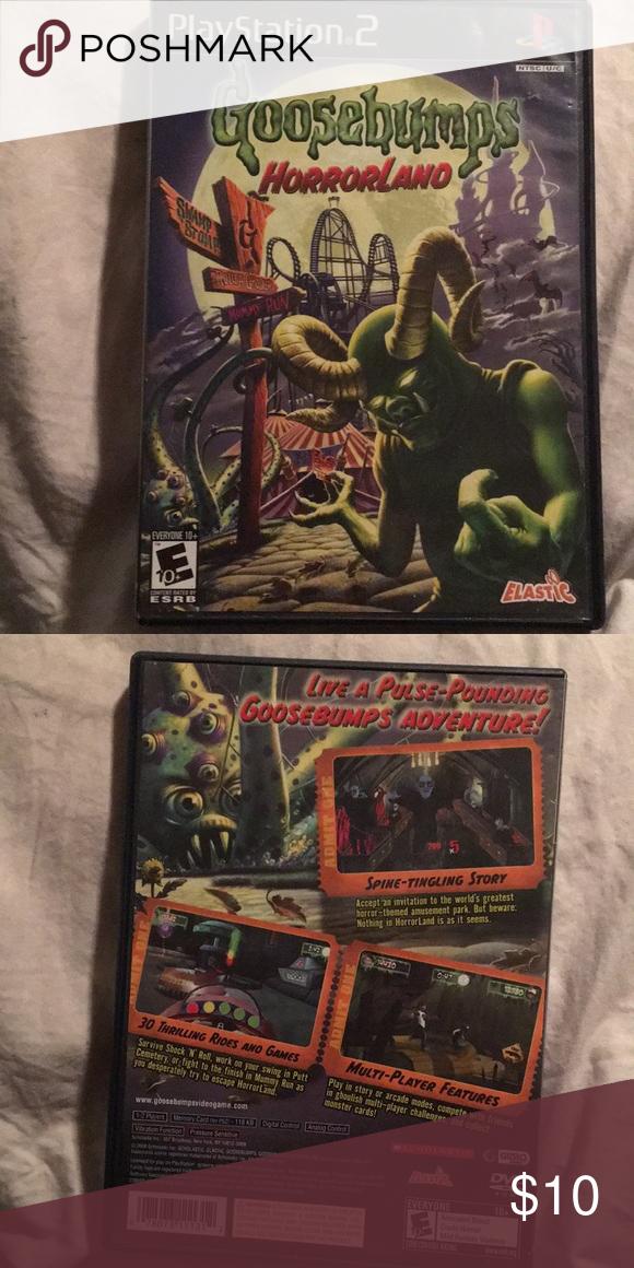 Goosebumps Horrorland PlayStation 2 Goosebumps